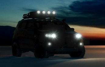 Chevrolet Niva Concept Teaser