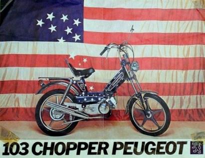 Peugeot 103 Chopper