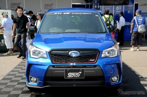 Subaru Forester STi TS 2015.0