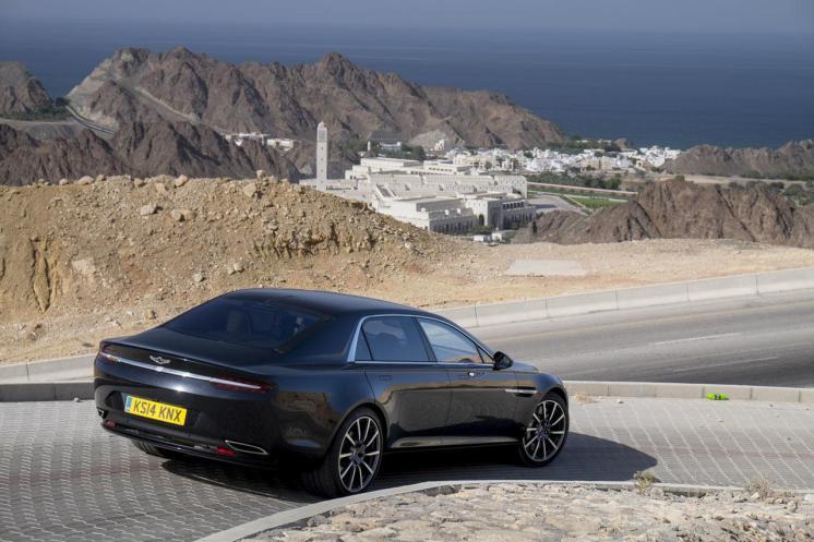 Aston Martin Lagonda 2015 à Oman.5