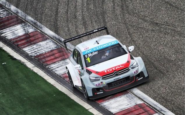 Citroën champion WTCC 2014.4