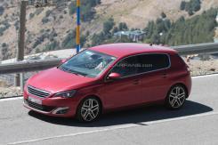 Peugeot 308 GTI spyshot by WCF