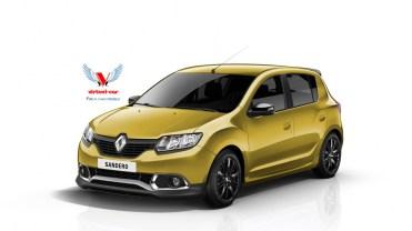 Renault-Sandero-Sport-Jaune Avant