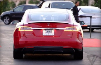 Tesla mode S P85D