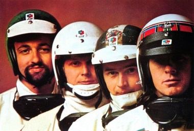 Henri-Pescarolo-and-Johnny-Servoz-Gavin-and-Jean-Pierre-Beltoise-and-Jackie-Stewart 1969