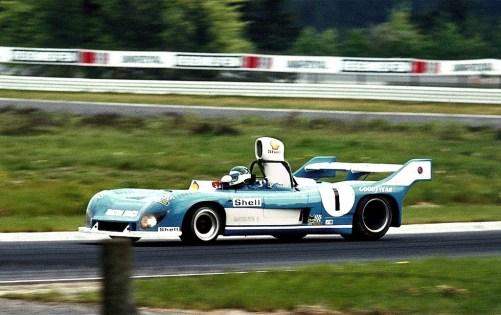 JP Beltoise sur Matra Simca 670C double championne du monde d'endurance 73-74 avec JP Jarier