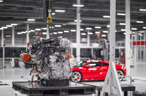 NSX Honda Production