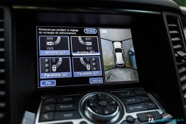 Essai Infiniti QX70 S 3.7 Ultimate - Camera