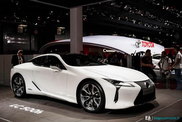 Lexus LC500h - Mondial 2016