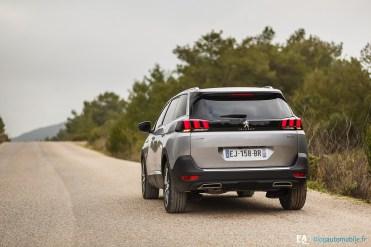 Peugeot Essai 5008 II 2017 - Photos