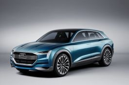 Audi e-tron quattro concept - Francfort 2015