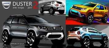 2017 - Genèse Design Nouveau Dacia DUSTER
