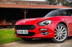 Essai Fiat - 124 Spider - Photos