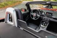 Intérieur Essai Fiat 124 Spider