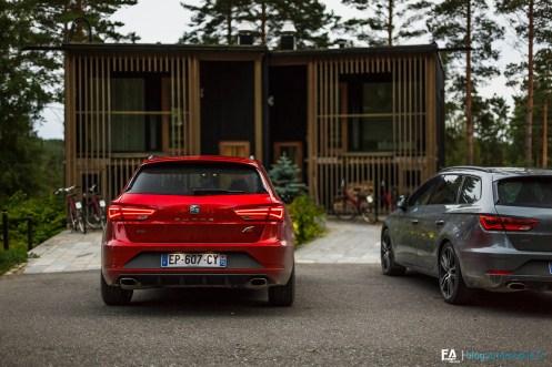 Essai Seat Leon ST Cupra 300 - Road trip Finlande (photos)
