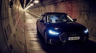 Audi A8 - Tunnel sous la manche - 12