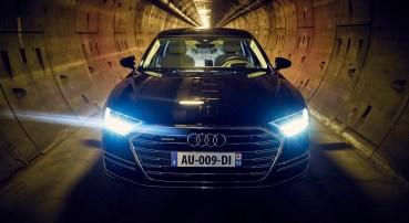 Audi A8 - Tunnel sous la manche - 13