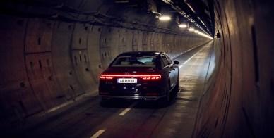 Audi A8 - Tunnel sous la manche - 2