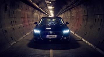 Audi A8 - Tunnel sous la manche - 9