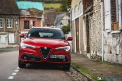 Essai Alfa Romeo Stelvio 180 Diesel AT8