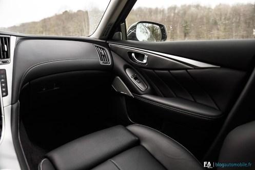 Intérieur Essai Infiniti Q50 S Hybrid - Photos