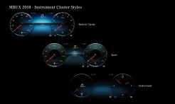 "Das neues Infotainment-System ""MBUX"" (Mercedes-Benz User Experience). Innovative Technologie basierend auf künstlicher Intelligenz. Intuitives Bedienkonzept. Augmented-Reality-Technologie. Touchscreen. Sprachassistenz – Hey Mercedes The new infotainment system ""MBUX"" (Mercedes-Benz User Experience). Innovative technology based on artificial intelligence. Intuitive operating concept. Augmented-Reality-Technology. Touchscreen. Voice Control – Hey Mercedes"