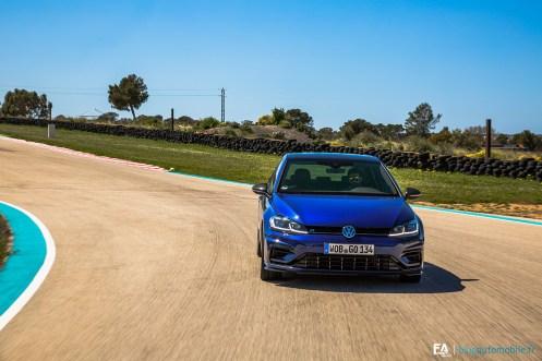 Essai Volkswagen Golf R 310 sur circuit