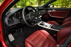 Intérieur Essai Kia Stinger GT 370