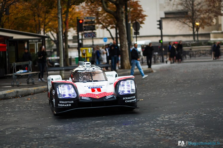 Porsche - 919 Tribute Tour Paris