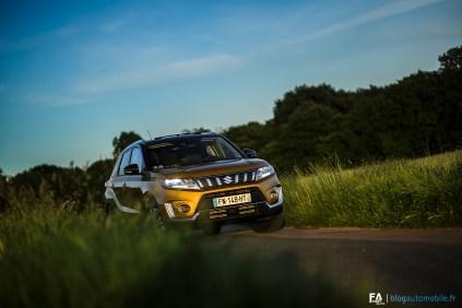 Essai Suzuki Vitara Hybrid SHVS 2020