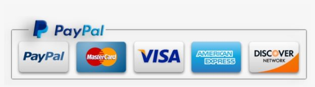 paypal acceptance mark major credit card logos