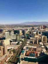 Las Vegas vista do alto