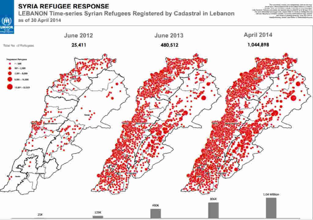Refugee Camps Map Venezuela