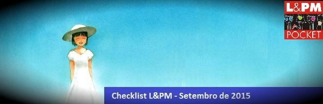 Checklist Setembro de 2015 – Editora L&PM