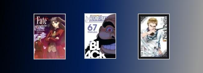 NR 90. Bleach, Black Butler e Assinaturas