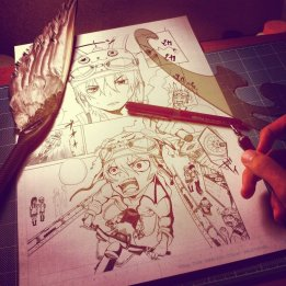 manga_making__by_matchang-d5ay85j