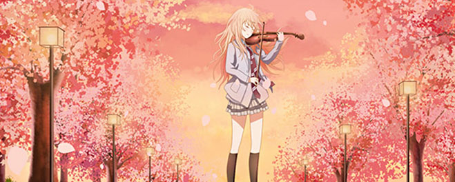 NR 264. Panini divulga capa nacional de Your Lie In April