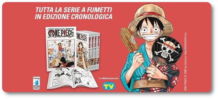 NI 434. Na ITÁLIA, mangá One Piece será publicado semanalmente (de novo)