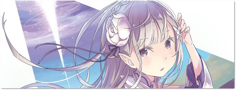 Reimpressões de Re:Zero e No Game No Life já disponíveis para encomenda