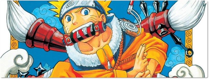 "Panini lança o mangá ""Naruto"" em formato digital"