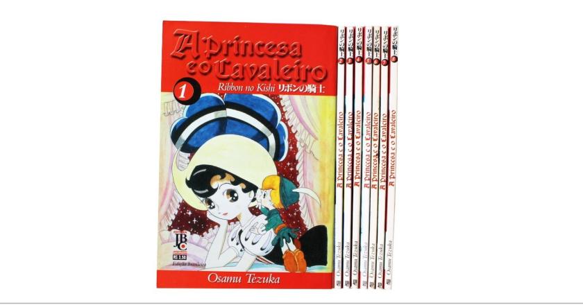 """Novo mangá pela JBC: """"A Princesa e o Cavaleiro"""""""