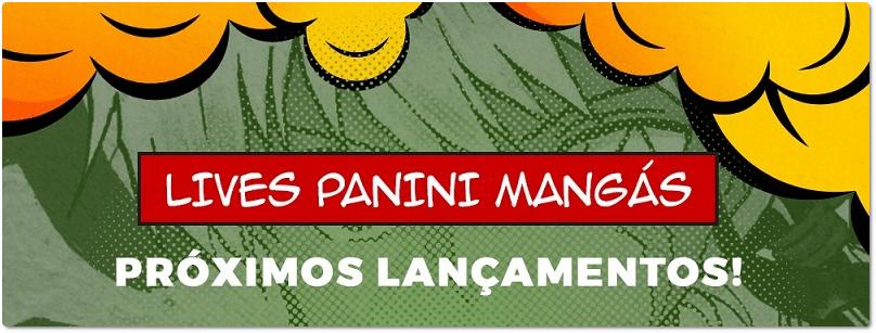 Panini fará live de novidades nesta terça-feira