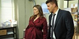 """Emily Deschanel engravidou duas vezes enquanto gravava """"Bones"""" as mesmas foram """"aproveitadas"""" para a série."""