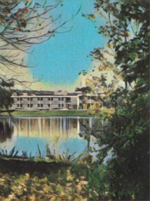 Belmont High School in 1972.