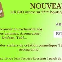 Nouvelle boutique Lili Bio à Grenoble.