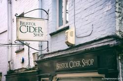 Cider shop.