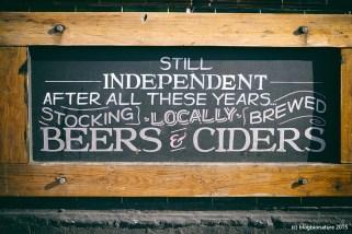 Bières locales et esprit d'indépendance !