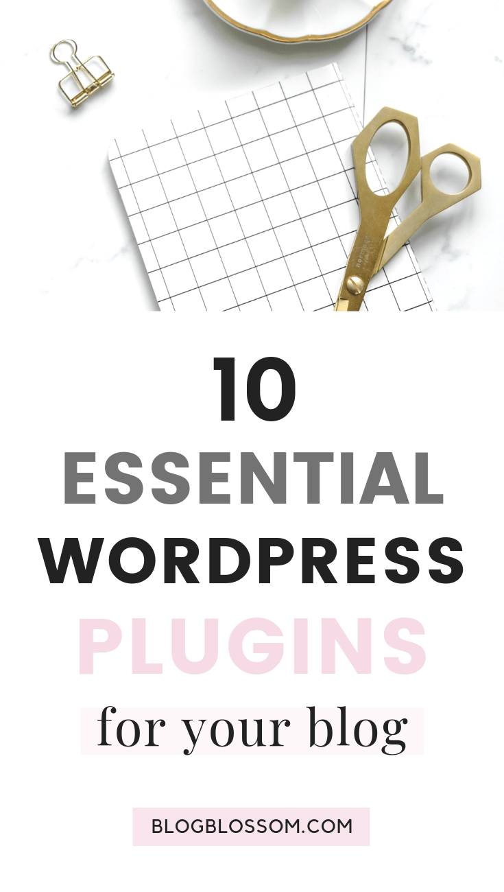If you're not sure which basic plugins you need to help you build a profitable blog as a newbie blogger, here are the 10 best free plugins for WordPress you'll want to make sure you install when you start your blog. | start a blog | wordpress plugins #bloggingforbeginners #affiliatemarketing #bloggingtools #plugins #wordpress #seo #bloggingtips #blogging