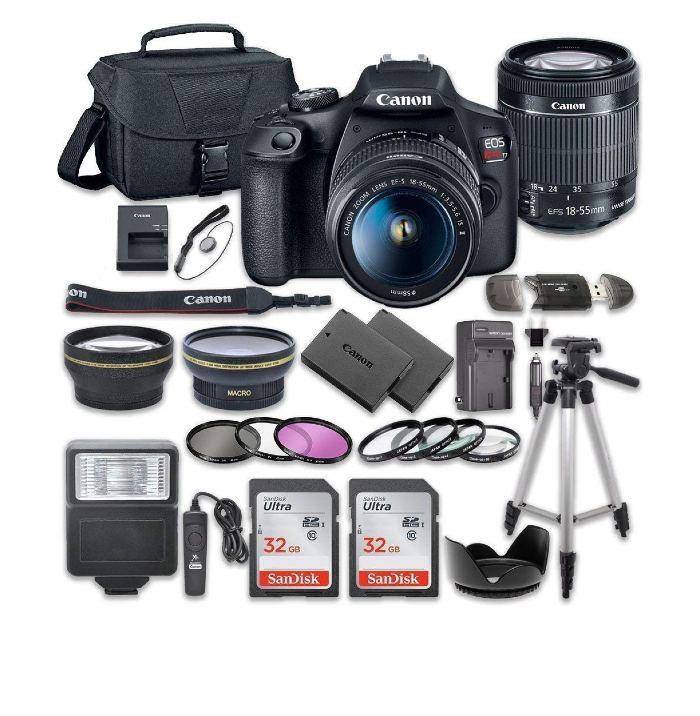 Canon EOS Rebel T7 Camera