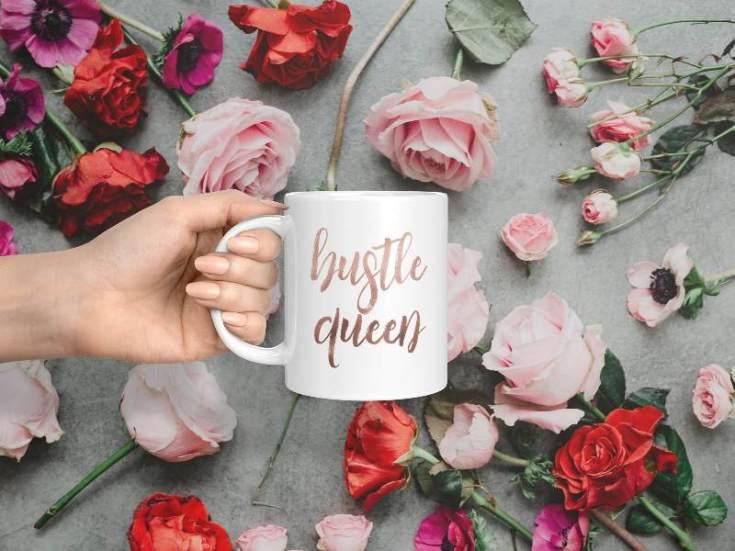 Hustle Queen Mug